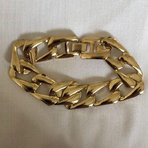 Jewelry - Gold Cuban Link Costume Bracelet